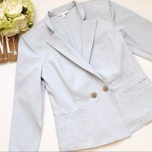 CAbi Call it a Day Wedgwood Jacket Blazer Blue 2